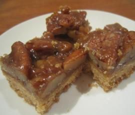 Recipe Pecan, honey and caramel slice by reneestevens - Recipe of category Baking - sweet
