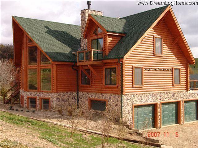 Log home kit austin bales monchilov for Eagles ridge log cabin