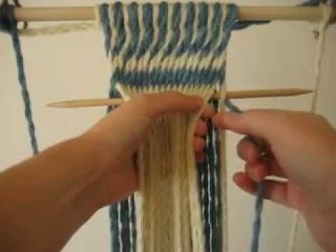 Advanced Métis Finger Weaving - YouTube