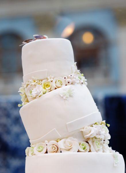 17 propostas de bolos de casamento românticos! Image: 11