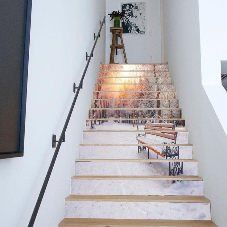 Pintura para escaleras free escalera de un solo color - Pintura para escaleras ...