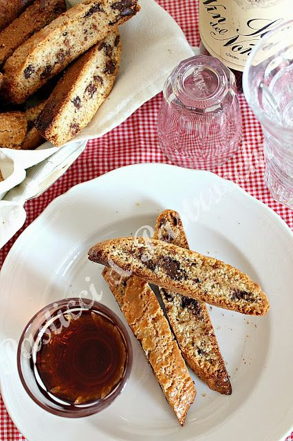 Chocolate Cantucci | ★ right from the baking sheet! | Pinterest ...