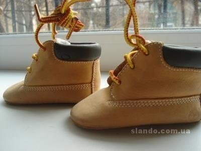 Детские ботинки типа тимберленд