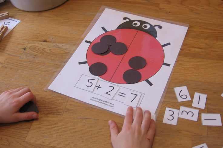 Pinterest Education Ideas for First Grade | ... mom 1024x683 Ladybug Math for Preschool, Kindergarten 1st Grade