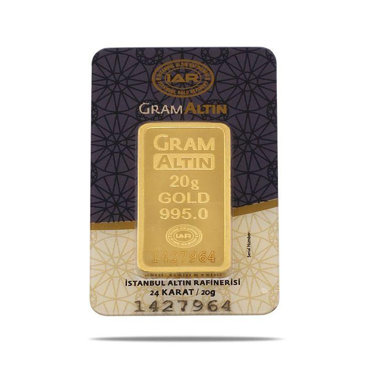 20 gr Gram Külçe Altın
