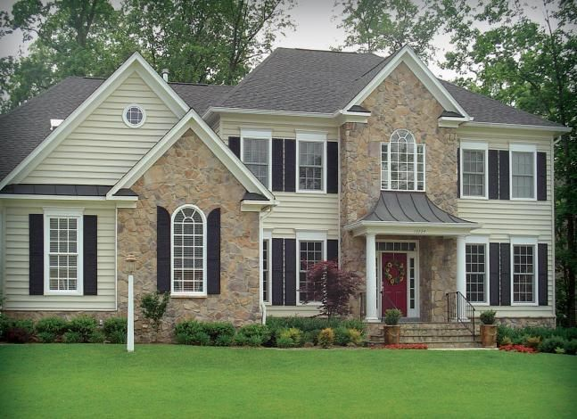 Stone Front House 111 best vinyl siding and stone images on pinterest | home