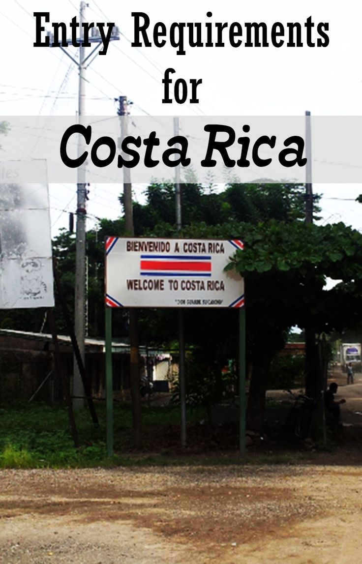 Entry requirements for Costa Rica - find out if you need a visa and how long you can stay