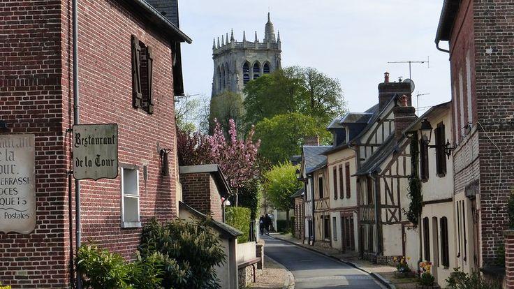 Le Bec-Hellouin, Brionne, Bernay, Eure, Normandie, France