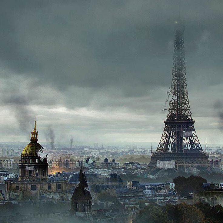 Post Apocalypse – Deux artistes imaginent les ruines des lieux célèbres