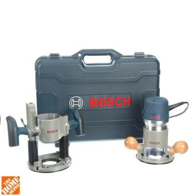 The 25 best bosch router table ideas on pinterest router table bosch 12 amp 2 14 hp peak corded variable speed plunge and fixed base router kit with hard case bosch toolsrouter tablehome greentooth Image collections