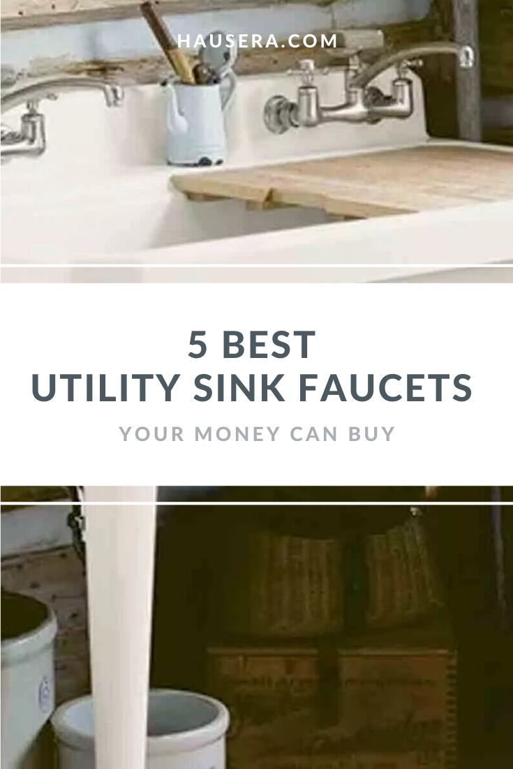 5 Best Utility Sink Faucets Your Money Can Buy In 2020 With