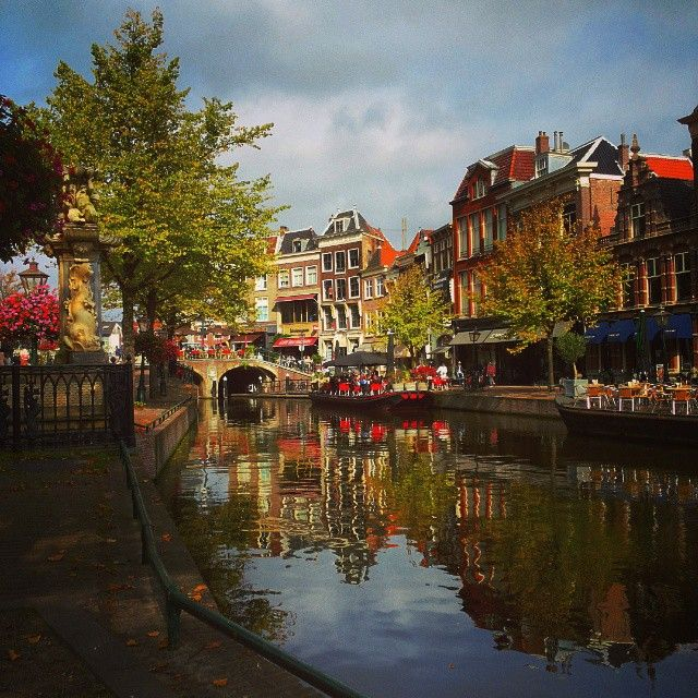 Sometimes tiny villages offer a better taste of local life than big cities. Photo courtesy of Instagram's whereissanne in Leiden, Netherlands.