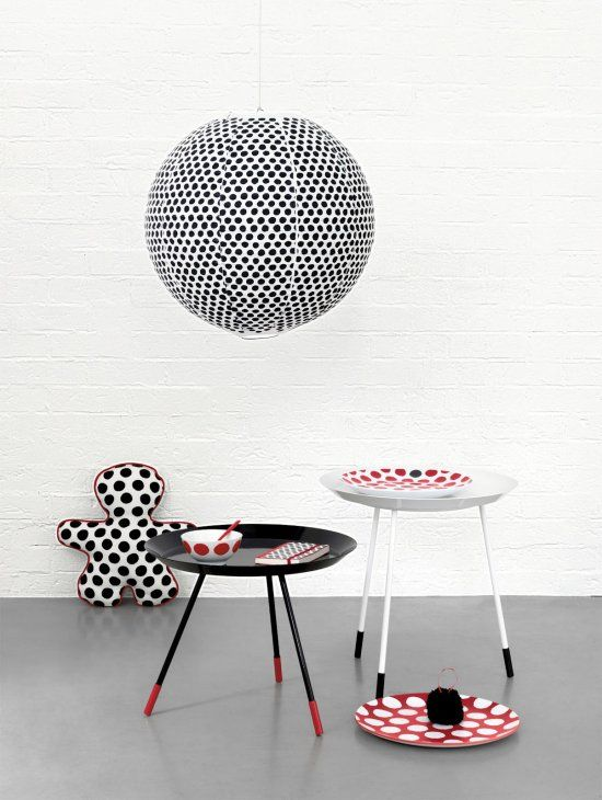 Christmas line for French magasin Monoprix by Paola Navone