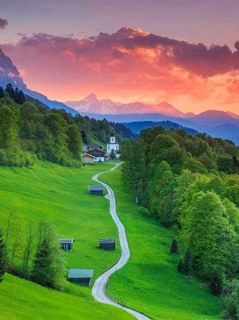 Garmisch-Partenkirchen, Bavaria, Germany