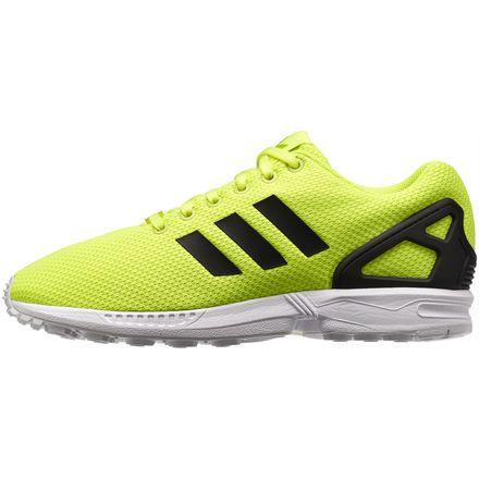 Adidas Zx Flux White Black Solar Yellow