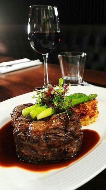 Steak Amp Red Wine Fine Dining Recipes Food Presentation Elegant Food