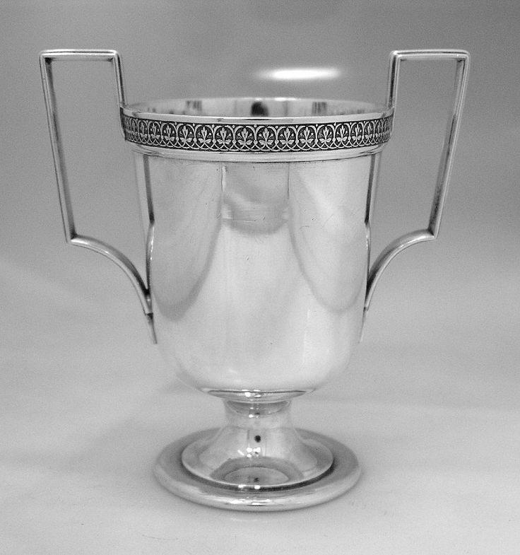 Aesthetic Spooner J R Wendt 1870 Sterling Silver