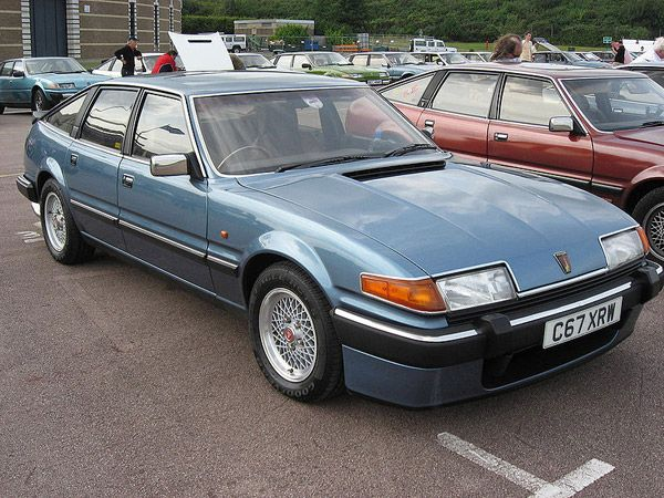 Brings back some memories - Rover SD1. V8 and RWD and styled after the Ferrari Daytona. Rover SD1 is a true classic!