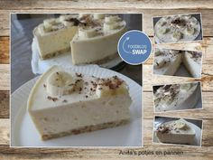 yoghurt / kwark-taart met banaan. Deze kan zelfs als ontbijt!  Suikervrij, glutenvrij, lactose-vrij.