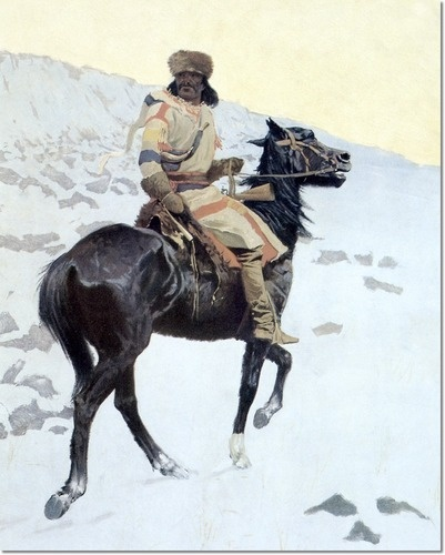 Image detail for -... Remington - The Half-Breed 1902 by Frederic Remington | Painting