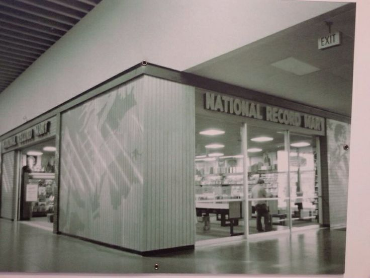 National Record Mart At The Northway Mall Pittsburgh