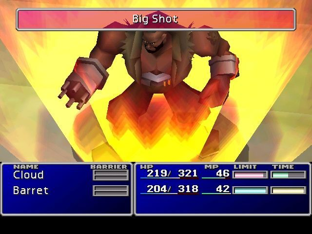 Final Fantasy VII Video Game Screenshot