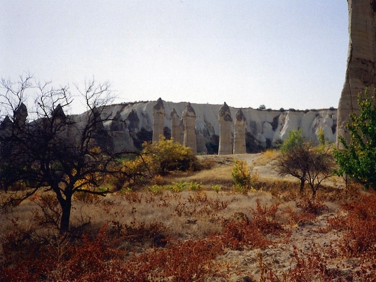 Valley of towers, Capadocia, Turkey
