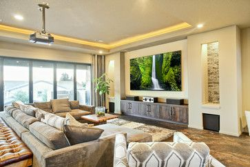 Media Rooms Design Ideas, Pictures, Remodel, and Decor – page 31