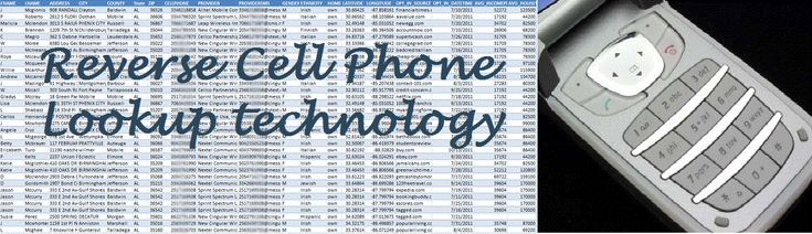 Reverse Cell Phone Lookup Services