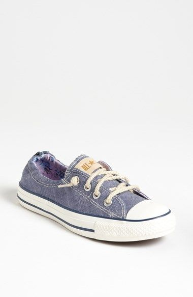 Free shipping and returns on Converse Chuck Taylor® 'Shoreline' Sneaker (Women) at Nordstrom.com. Season-savvy denim and woven rope laces nod to the nautical trend on a warm-weather sneaker.