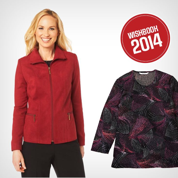 These contemporary faux-suede jackets are great from fall to spring!