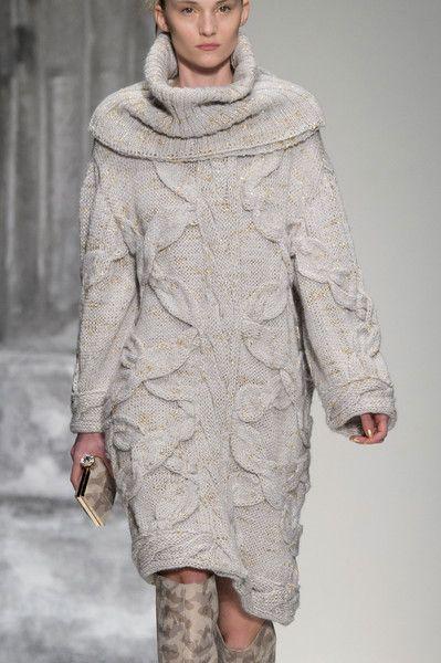 Laura Biagiotti at Milan Fashion Week Fall 2015 - Details Runway Photos