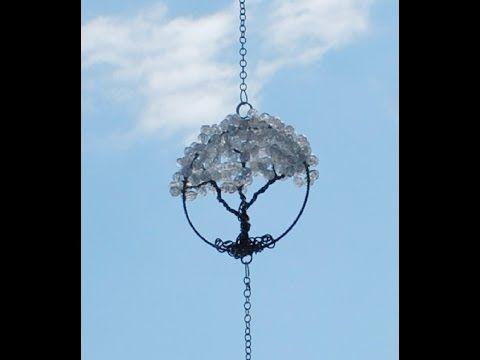 Triple Tree of Life Sun Catcher Tutorial Part 1 - YouTube