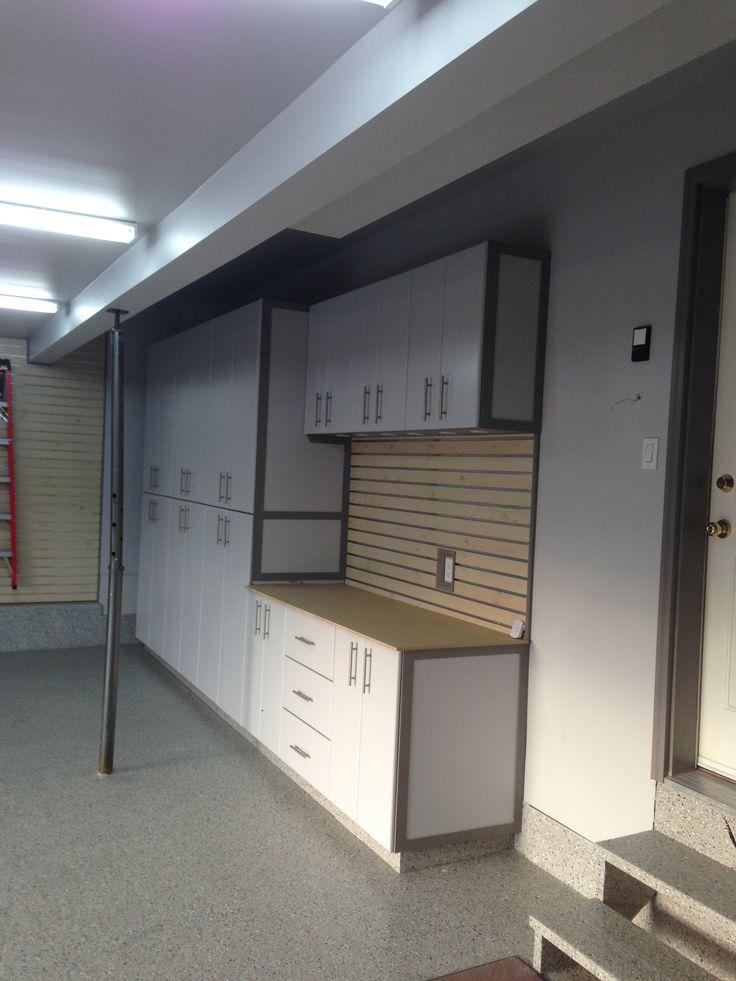 Custom Garage Epoxy Floor Designs: 71 Best Garage Storage Cabinets Images On Pinterest