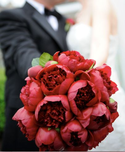 find this pin and more on red to burgundy bouquets