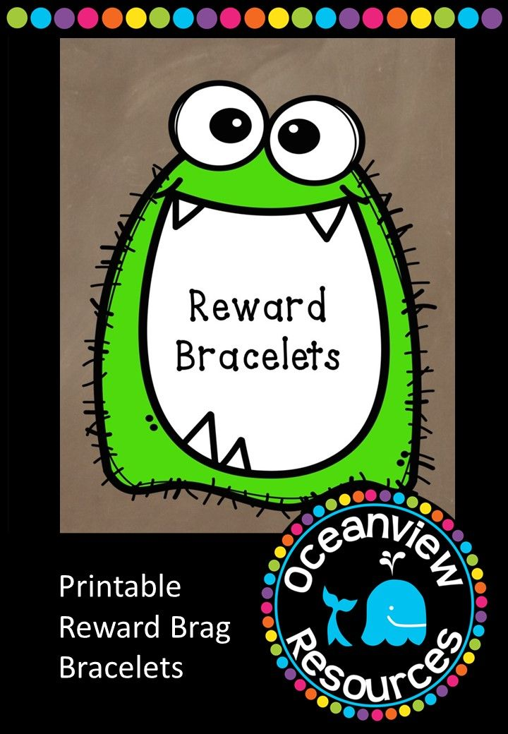 This great little bundle comes with a PDF and PowerPoint Presentation so that you can insert your own text and make your own reward bands. Perhaps students may like to write a sentence of their own in the blanks. Reward bracelets are a visible reward which students can proudly wear home and show their parents and carers, or be noticed in the playground. 34 pages for $2!  http://designedbyteachers.com.au/marketplace/editable-reward-bracelets/