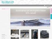 Rabattkod Hildur 20% rabattpå alla sängkläder i ekologisk bomull och linne.