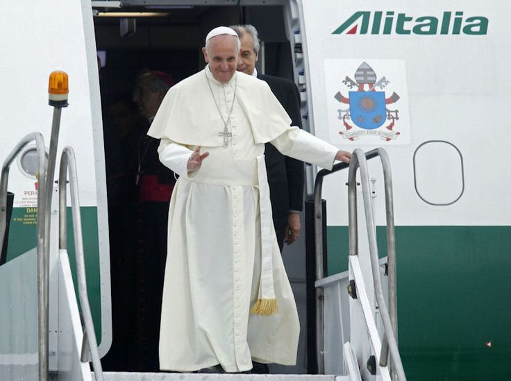 Plane Carrying Pope Francis Detours To Avoid Hurricane Irma