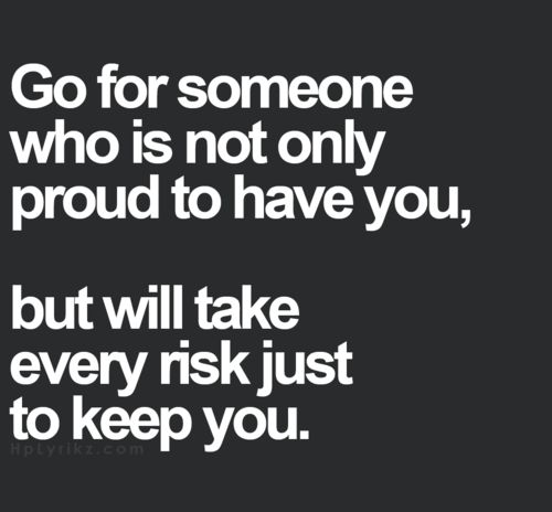 Yes most def.. dont waste ur time on ppl whose not willing to put effort to keep u.