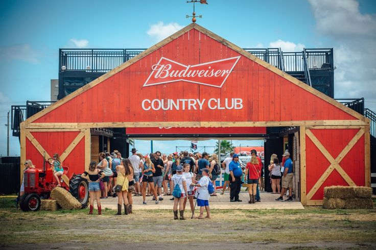 Anheuser-Busch's Budweiser brand announced it was doubling down on its country music marketing strategy with a three-story touring structure called The Budweiser Country Club hitting powerhouse country festivals Stagecoach, Country 500, CMA Music Festival and Faster Horses during the summer of 2016.