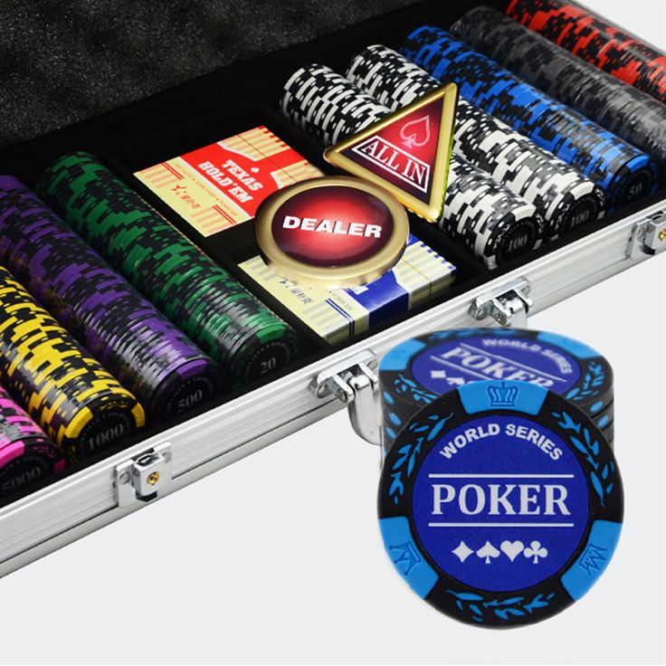 https://www.i-sabuy.com/ 500PCS/SET,10 Kinds Option Luxury Poker Chips Colorful Casino Chips Texas Hold'