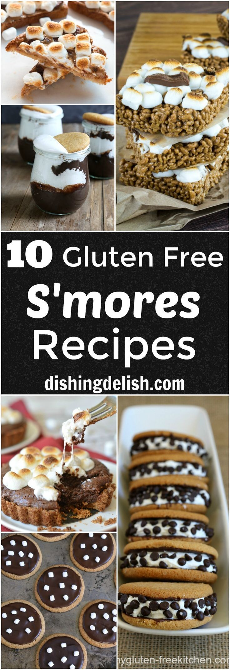 Here's a list of the top 10 Gluten Free S'mores Recipes that are perfect for your next camping trip!