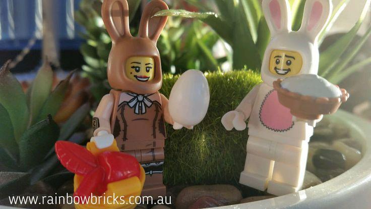 https://flic.kr/p/TevcQ5 | Bunnies can't live on Easter Eggs alone! | Kevin / Rainbow Bricks LUG