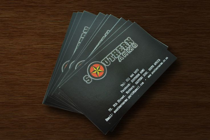 Southern Arms Business Cards
