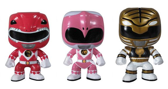 Funko has unveiled their latest Pop! figures (we were previously excited about the Game of Thrones collection) and it's the Mighty Morphin Power Rangers!