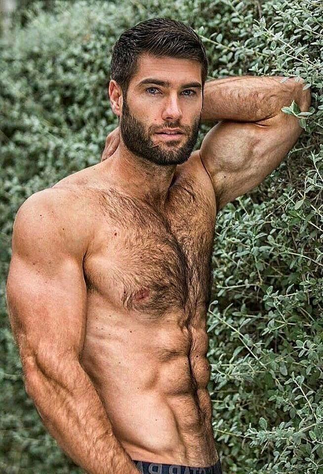 Hot naked hairy gray men