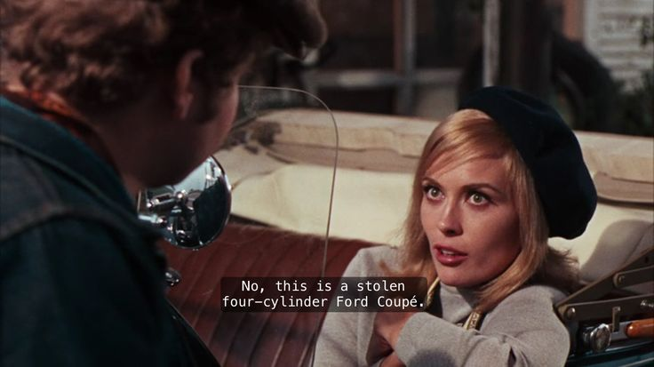 """""""Stolen"""" bonnie and clyde quote"""