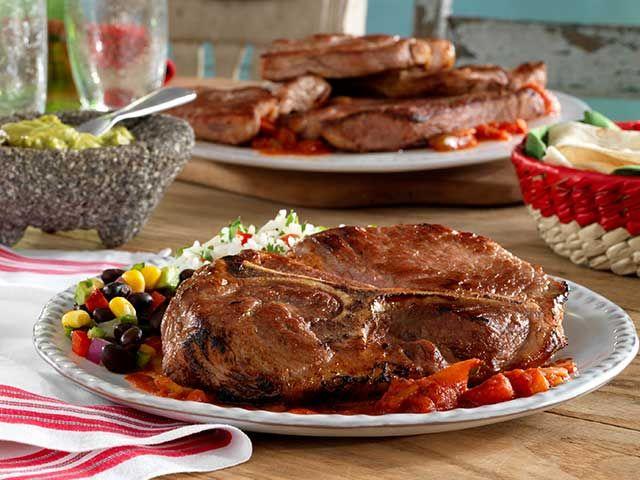 Mexican Pork Steaks - Pork Recipes - Pork Be Inspired