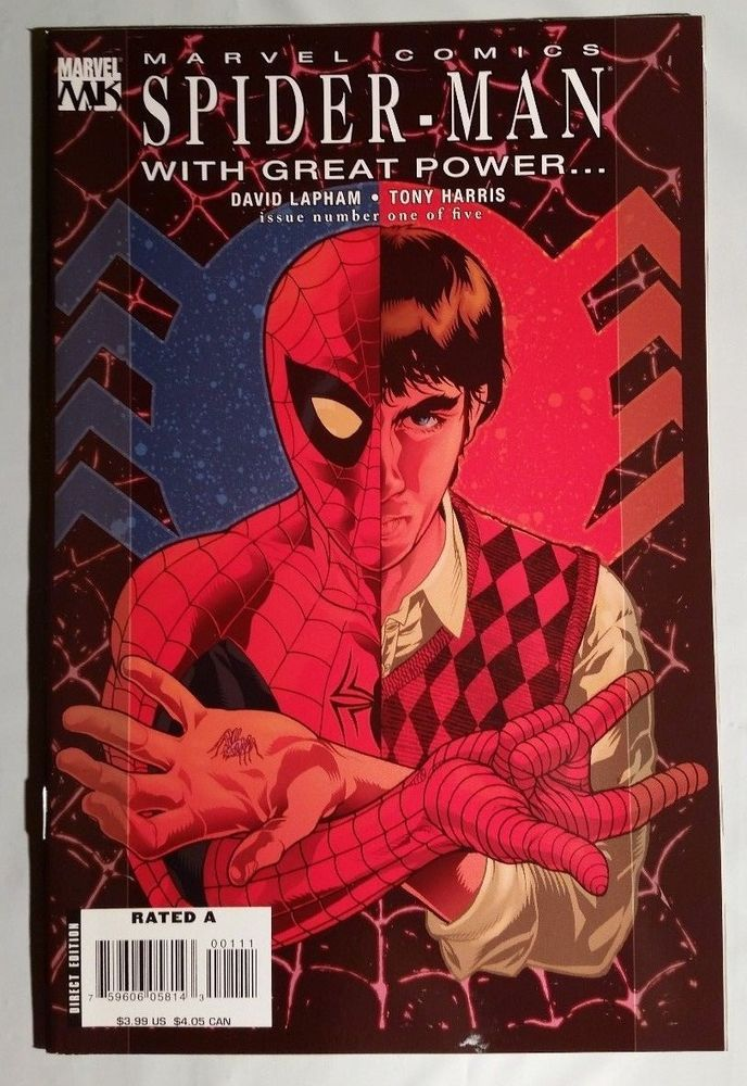 Marvel Knights Spider-Man With Great Power.... #1