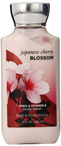 Bath Body Works Japanese Cherry Blossom 8.0 oz Body Lotion Bath & Body Works http://www.amazon.com/dp/B00FWB7F82/ref=cm_sw_r_pi_dp_kMkVub125V71W